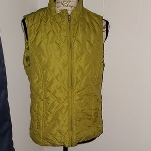 Christopher & Banks Green Vest